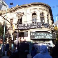 """[Argentina] Comunicado de """"La Grieta"""" após o desalojo: Nós seguimos de pé!"""