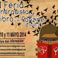 [Colômbia] 2ª Feira Anarquista do Livro e do Fanzine de Medellín