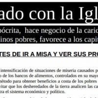 [Espanha] Cuidado com a Igreja!