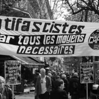 [França] Manifestação contra a austeridade: Bloco libertário reúne cerca de 1.000 pessoas