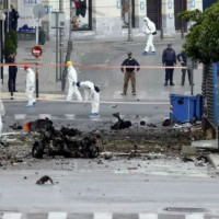 [Grécia] Atenas: Carro-bomba explode próximo ao Banco Central grego sem provocar vítimas