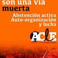 Grupos libertários do estado espanhol, França, Itália, Grécia e Portugal, lançam uma campanha contra as eleições europeias