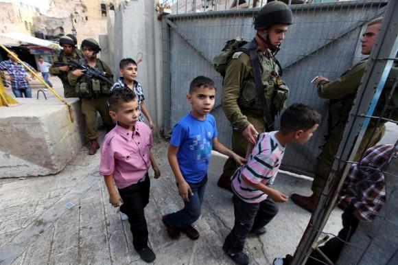 israel-palestinacrianças