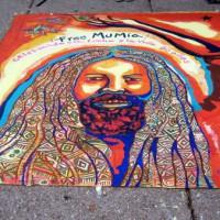 """[México] Encerramento do """"Festival Free Mumia"""" frente à embaixada dos Estados Unidos"""