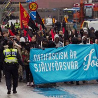 "[Suécia] ""Antifascismo é autodefesa. Joel livre"""