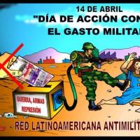 [Venezuela] Declaração da Rede Latino-americana Antimilitarista pelo dia mundial de ação contra o gasto militar