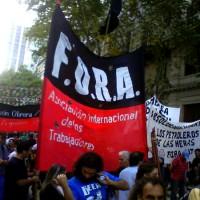 [Argentina] FORA: 113 anos de luta contra o Capital e seus representantes