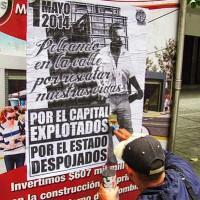 [Colômbia] Primeiro de Maio: Nas ruas de Medellín!