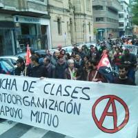 [Espanha] Amplas manifestações a favor do anarcossindicalismo no País Basco
