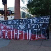 [EUA] Relato da manifestação anti-polícia em Phoenix, Arizona