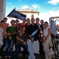 """[França-Cuba] Imagens da """"Primavera Libertária"""" em Havana"""