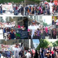 [França] Manifestação em Paris: Parem a guerra contra as comunidades zapatistas