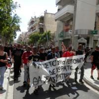 [Grécia] Ações diretas contra a presença de grupos fascistas nos bairros de Atenas e Tessalônica