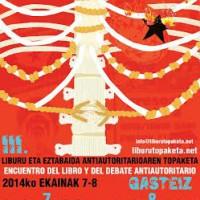 [País Basco] Encontro do Livro e do Debate Antiautoritário Gasteiz 2014