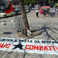 """[Portugal] Relato do 1º de Maio em Lisboa: """"Não negociamos a nossa escravidão, a vida é nossa não é do patrão"""""""