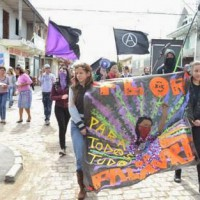 Primeiro de Maio libertário na Vila Jardim Itaqui, em São José dos Pinhais (PR)