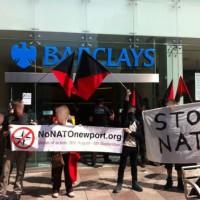 [Reino Unido] Anarquistas fecham agência do banco Barclays em Cardiff