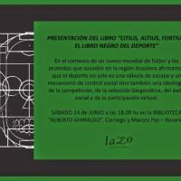 """[Argentina] Apresentação do livro """"Citius, Altius, Fortius. O livro negro do esporte"""""""