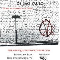 Chamado para a V Feira Anarquista de São Paulo