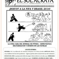"[Chile] Já está nas ruas ""El Sol Ácrata"" nº 26, junho de 2014"
