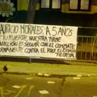 [Chile] Mauricio Morales: 5 anos depois de sua morte, nossa firme convicção é seguir com o combate permanente contra o Poder, o Estado e o Capital