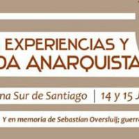 [Chile] Santiago: Jornada de Experiências e Propaganda Anarquista