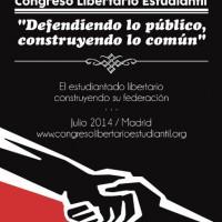 [Espanha] Julho de 2014: Congresso libertário estudantil