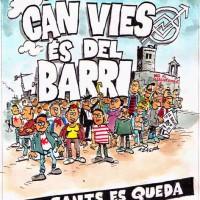 [Espanha] Panfleto distribuído na manifestação de apoio a Can Vies