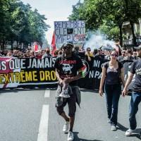 [França] Paris: Manifestação em memória de Clément Méric