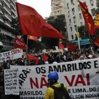 """Rio de Janeiro: """"Não nos calaremos e não assistiremos sentados!"""""""