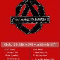 1° Cine Anarquista de Parnaíba