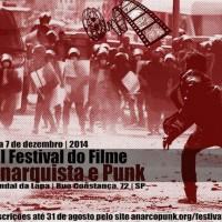 """Convocatória para envio de filmes: """"III Festival do Filme Anarquista e Punk de São Paulo"""""""