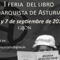 [Espanha] I Feira do Livro Anarquista das Astúrias