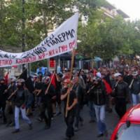[Grécia] Nea Filadélfia, Atenas: Passeata em defesa dos espaços públicos e contra as agressões paraestatais