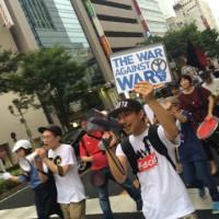"""[Japão] Nagoya: """"Abe, fascista, escuta, estamos em luta"""""""