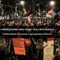 Rio de Janeiro: Nota da Organização Anarquista Terra e Liberdade sobre as prisões dxs lutadorxs e as perseguições políticas