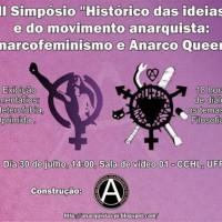 Teresina: II Simpósio ''Histórico das ideias e do movimento anarquista'': Anarcofeminismo e Anarco Queer