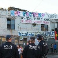 """[Austrália] Sydney: Desalojo da Okupa """"Hat Factory"""""""