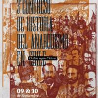 """[Chile] Chillan: """"3° Congresso de História do Anarquismo no Chile"""""""