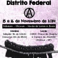 Feira Anarquista do Distrito Federal acontece em novembro