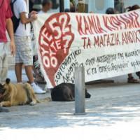 [Grécia] Continuam os protestos contra a abolição do domingo como dia festivo