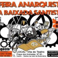 Santos (SP): 1ª Feira Anarquista da Baixada Santista acontece em 23 de agosto, das 10h às 18h
