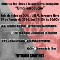 """Teresina: III Simpósio """"Histórico das Ideias e do Movimento Anarquista"""" - Uma introdução"""