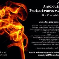 [Uruguai] Montevidéu: Colóquio Internacional Anarquismo e Pós-estruturalismo