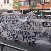 [Espanha] Comunicado lido durante o protesto antifascista em Tetuán contra a ocupação de um edifício por parte dos neonazistas do MSR