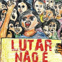 """Vídeo do evento """"Lutar não é crime! Prévia do III Festival do Filme Anarquista e Punk de São Paulo, 2014"""""""