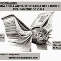 [Colômbia] 1ª Feira Antiautoritária do Livro e do Fanzine de Santiago de Cali