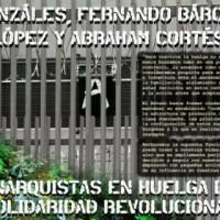 [México] Comunicado em solidariedade com os presos anarquistas em Greve de Fome