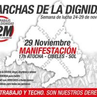 [Espanha] Pão, Trabalho, Teto… Dignidade - Jornadas de luta de 24 à 29N