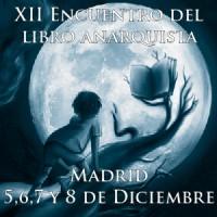 [Espanha] XII Encontro do Livro Anarquista de Madri, de 5 a 8 de dezembro de 2014